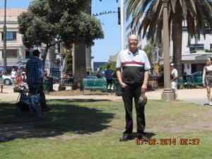 Me July 2014 Santa Monica Beach.