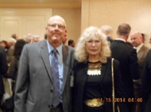 Terry Richards/Me and Loreeta Swit at the April 2014 Annual Death Penalty Focus Awards Dinner at the Beverly Hilton Hotel in Beverly Hills, CA.