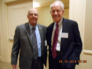 Terry Richards/Me and Mike Farrell at the April 15, 2015 Death Penalty Focus Awards Dinner at the Beverly Hilton Hotel in Beverly Hills, CA. Mike is the President of Death Penalty Focus.