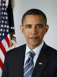 Barack Obama, Elected the 44th President of the U.S. for the second time on November 06, 2013.