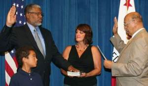 Swearing-in of Todd Irby, Deputy Secretary of the California Department of Veterans Affairs and Chief Counsel  of Legal Affairs.