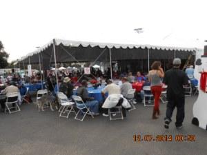 Entertainment Tent.