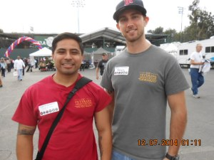 2-Members of the University of Southern California/USC Veterans Association.