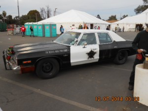 """Actual Police Car used in the John Belushi and Dan Akroyd """"Blues Brothers"""" Movies."""