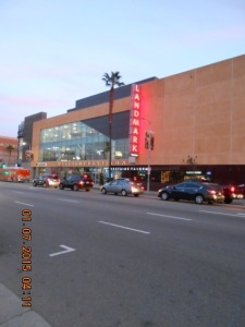 The Landmark Theatre in the Century City Westside neighborhood of Los Angeles.