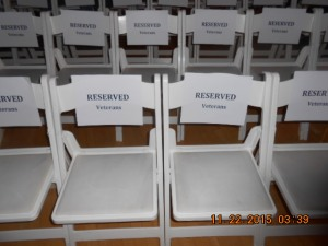 Reserved for Veterans