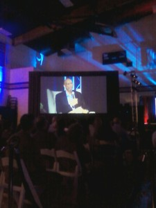 Kareem Abdul-Jabbar on stage speaking.