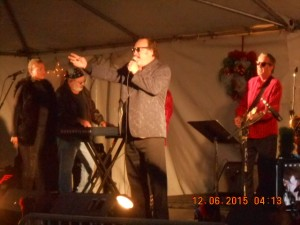 Jim Belushi and his Sacred Heart Band 19th year volunteering to perform for Veterans at this annual event.