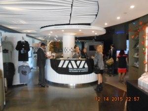 IAVA Luncheon Reception Desk.