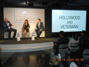 Guest Speakers Comedian and Actors Kathy Griffin and Rob Riggle.