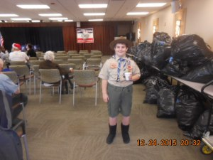 A Boy Scout Volunteer.