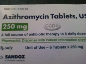 Azithromycin Package Photo